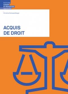 Acquis de droit