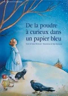 De la poudre à curieux dans un papier bleu