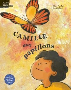 Camille aux papillons