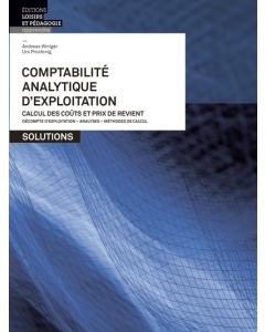 Comptabilité analytique d'exploitation Solutions