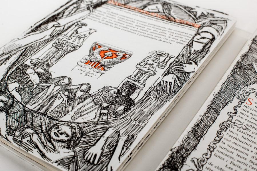 Quel célèbre artiste suisse a «tagué» ce livre?