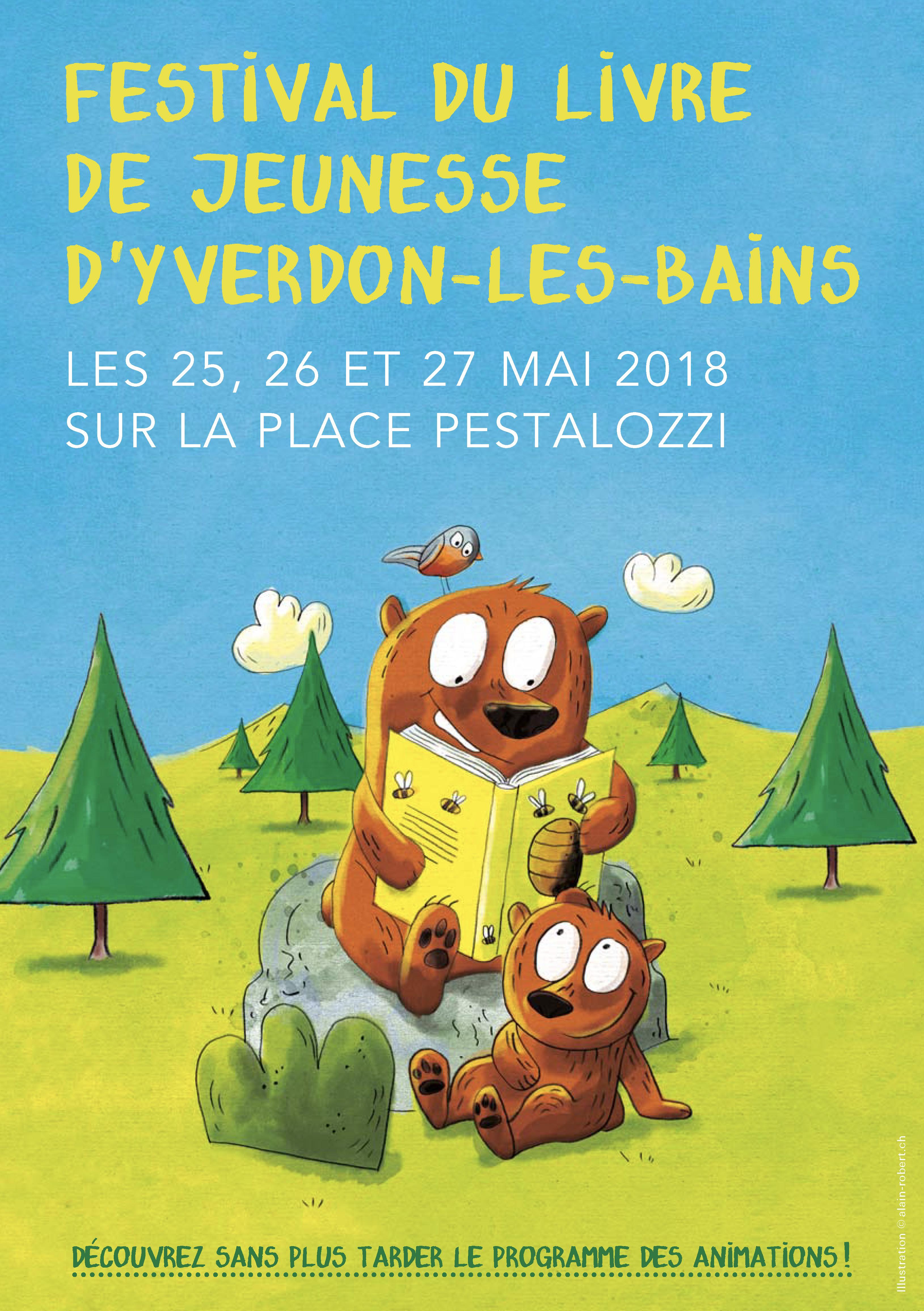 Festival du livre de jeunesse d'Yverdon-les-Bains