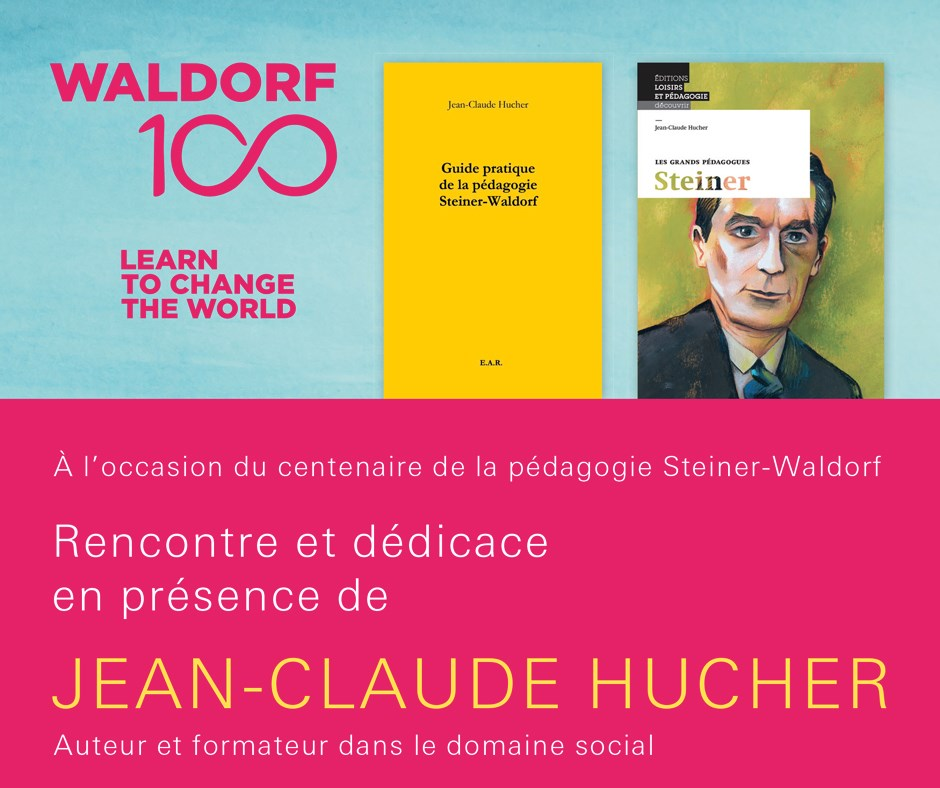 «Steiner» - Dédicace de Jean-Claude Hucher